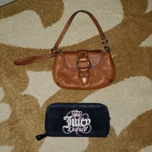 Banana Republic and Juicy couture wallet wristlet